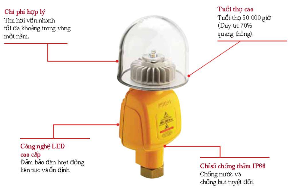 Ưu điểm đèn XGP500